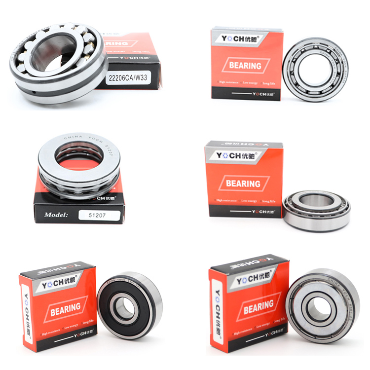 Manufacturer/Distributor YOCH bearing High Precision High Quality 3000 Series Tapered Roller Bearing 32204 Auto Parts Bearing