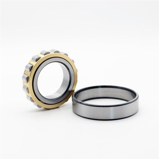 Distributor Supply Brass Cage/Steel Cage Cylindrical Roller Bearing N205 N205m Machine Shaft Beaarings