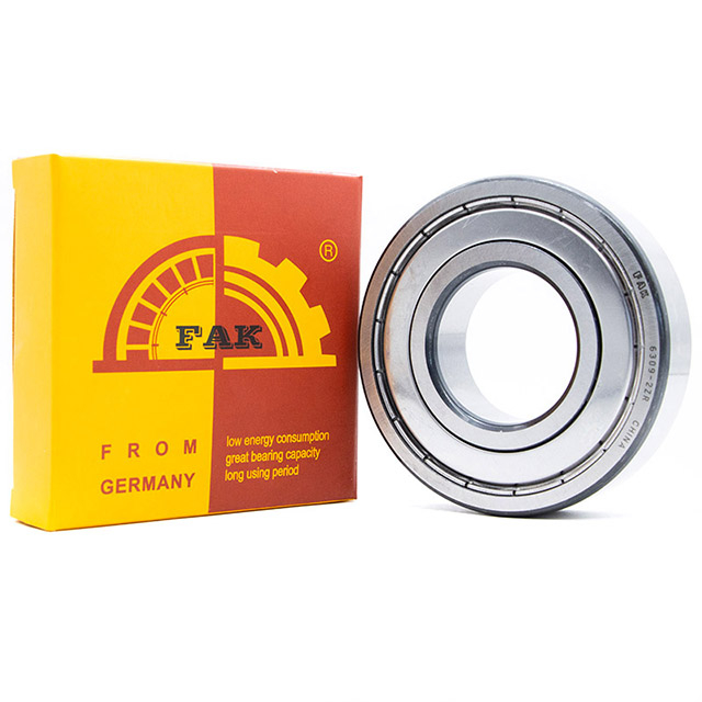 Agricultural Machinery FAK Deep Groove Ball Bearing 608 2Z